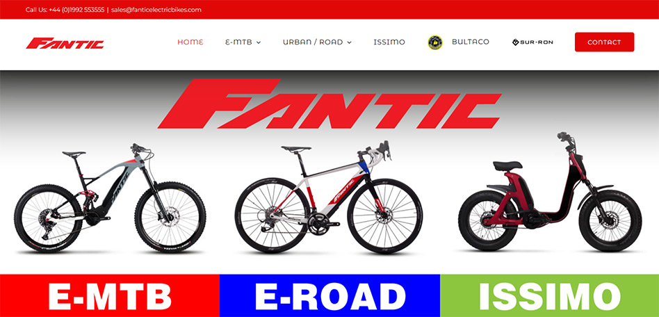 Fantic Electric Bikes