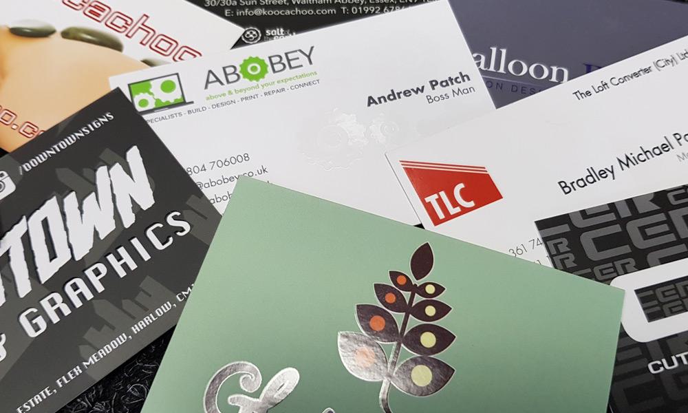 Shiny (Spot UV) Business Cards